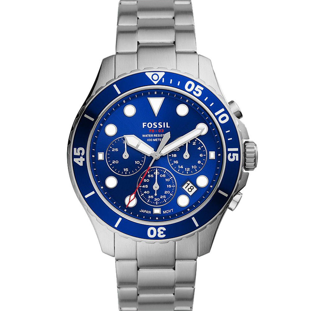 Fossil FB-03 FS5724 Chronograph Mens Watch
