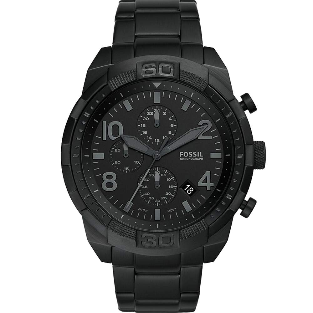 Fossil Bronson FS5712 Black Mens Watch