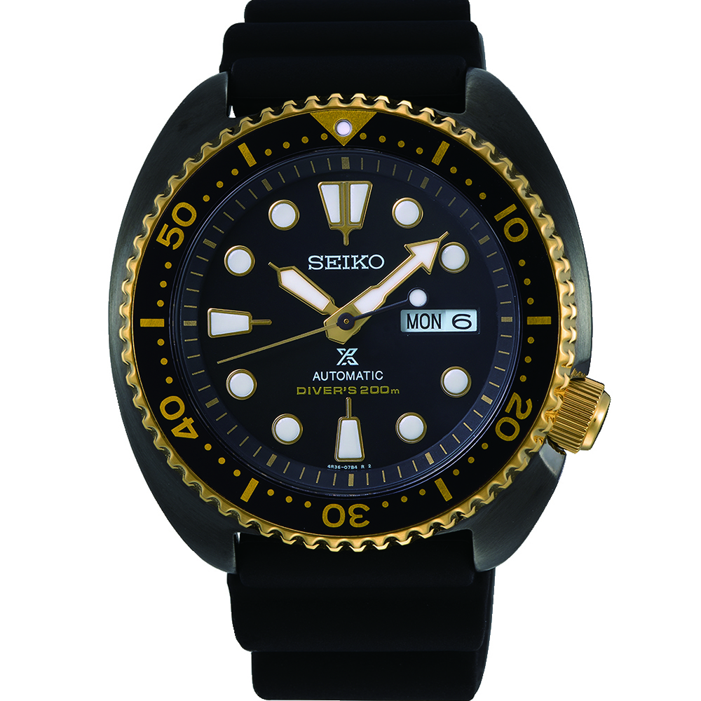 Seiko Prospex SRPD46J1 Gold Turtle Automatic Divers Watch