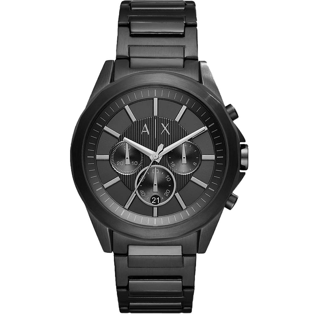 Armani Exchange Drexler AX2601 Black Chhronograph 100M Water Resistant Mens Watch