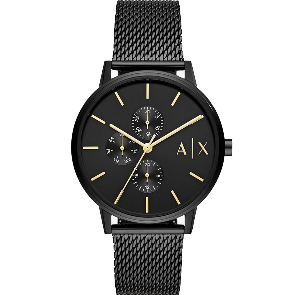 Armani Exchange Cayde AX2716 Black Chronograph 50 Metres Water Resistant Mens Watch