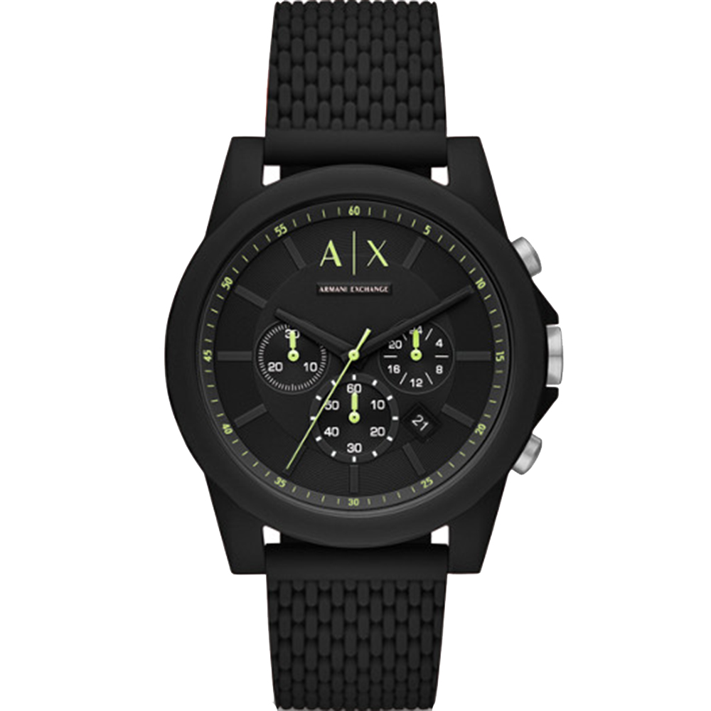 Armani Exchange AX1344 Black 30 Metres Water Resistant Mens Watch