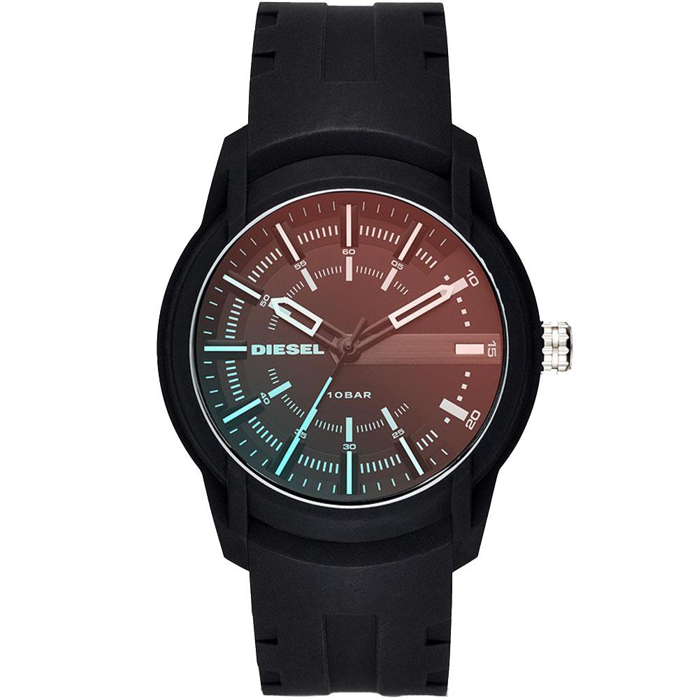 Diesel Armbar Silicon DZ1819 Black Mens Watch