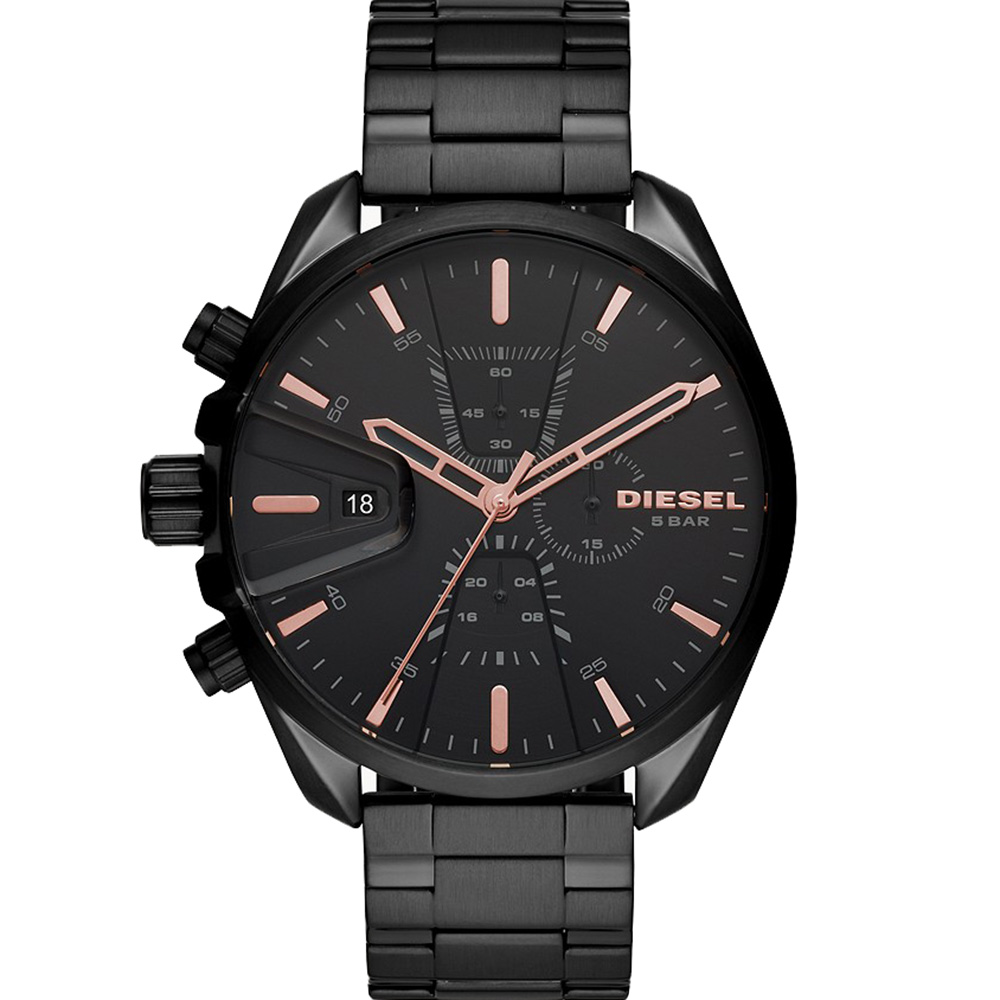 Diesel MS9 Chrono DZ4524 Black Mens Watch