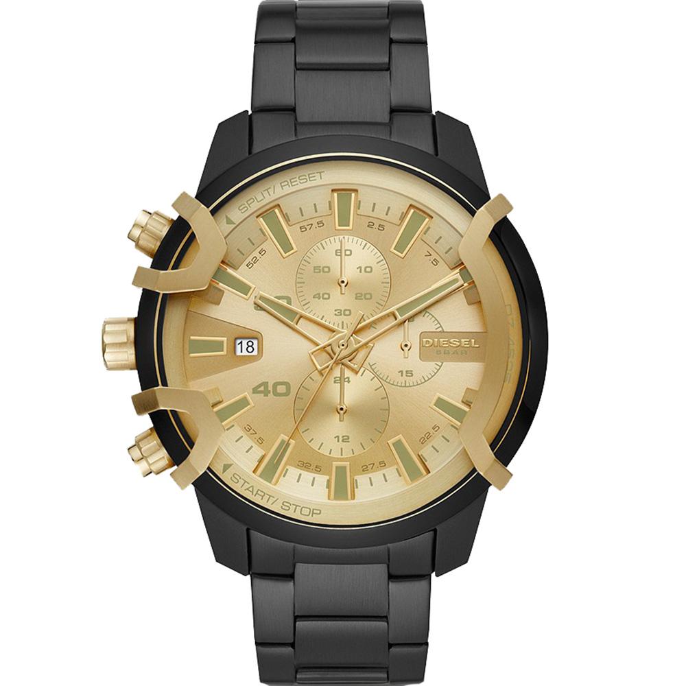 Diesel Griffed DZ4525 Chronograph Black Mens Watch