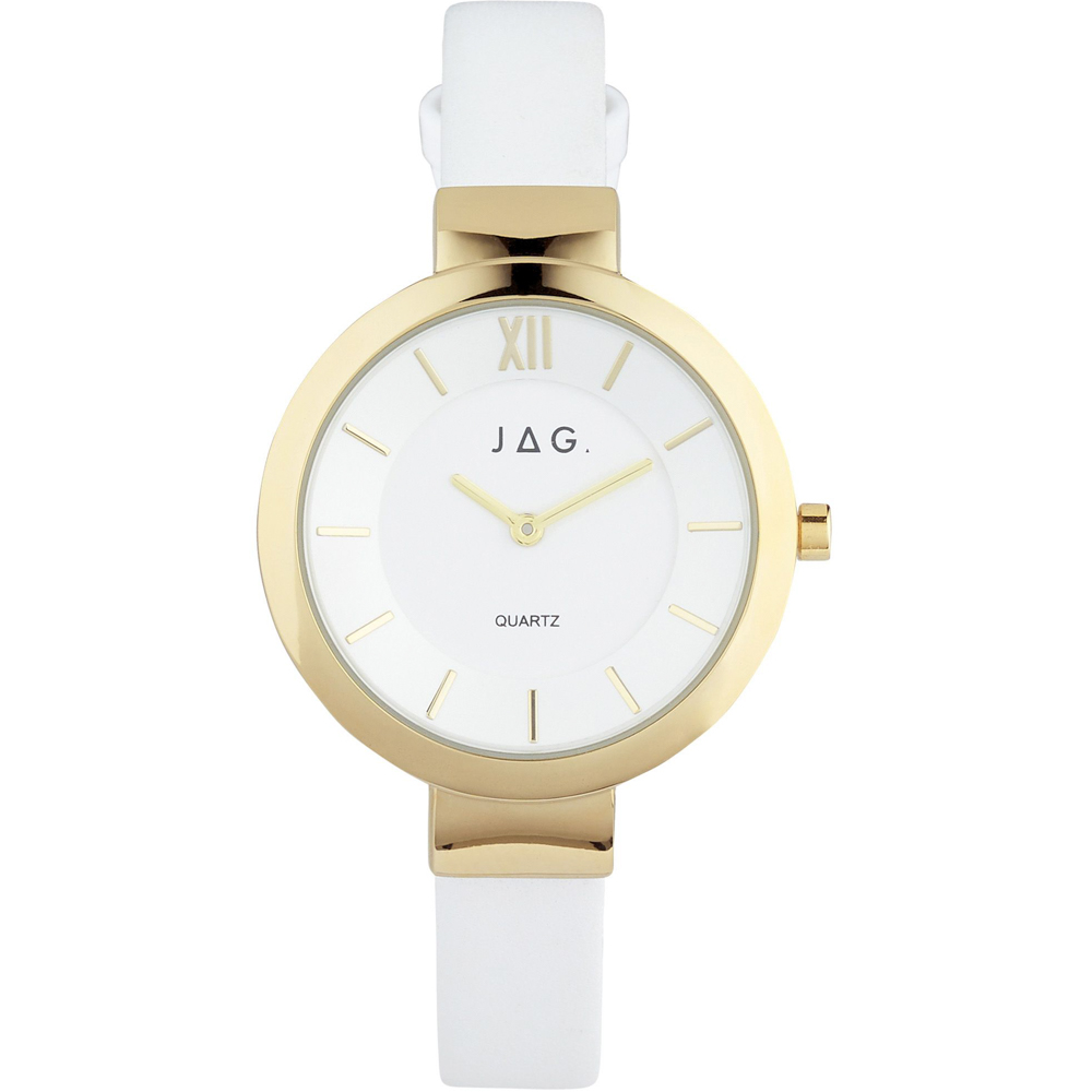 Jag Trixie JY908663-IPG-1 White Ladies Watch