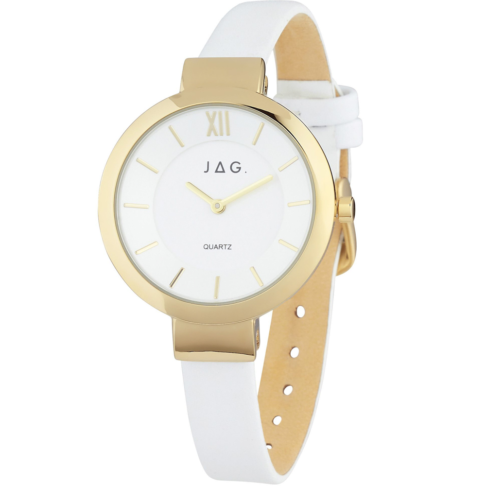 Jag Trixie JY908663-IPG-1 White Ladies Watch
