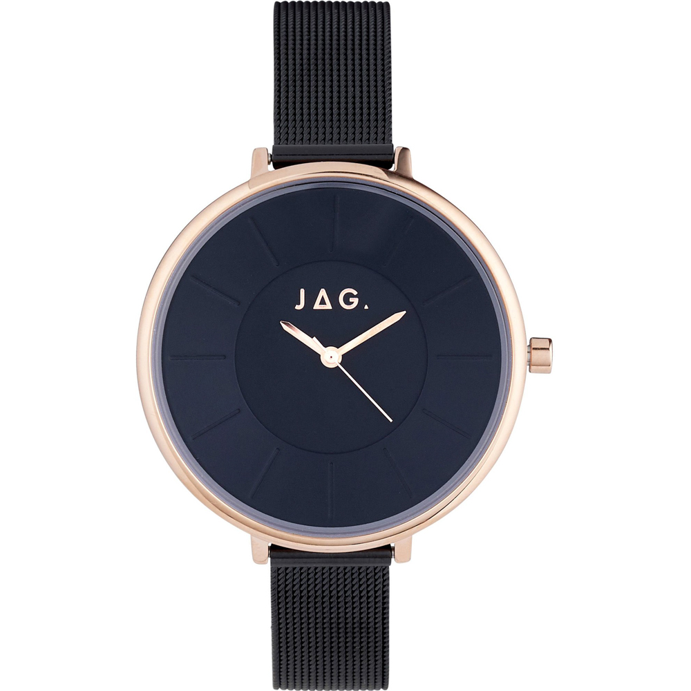 Jag J2362A Black and Rose Womans Watch