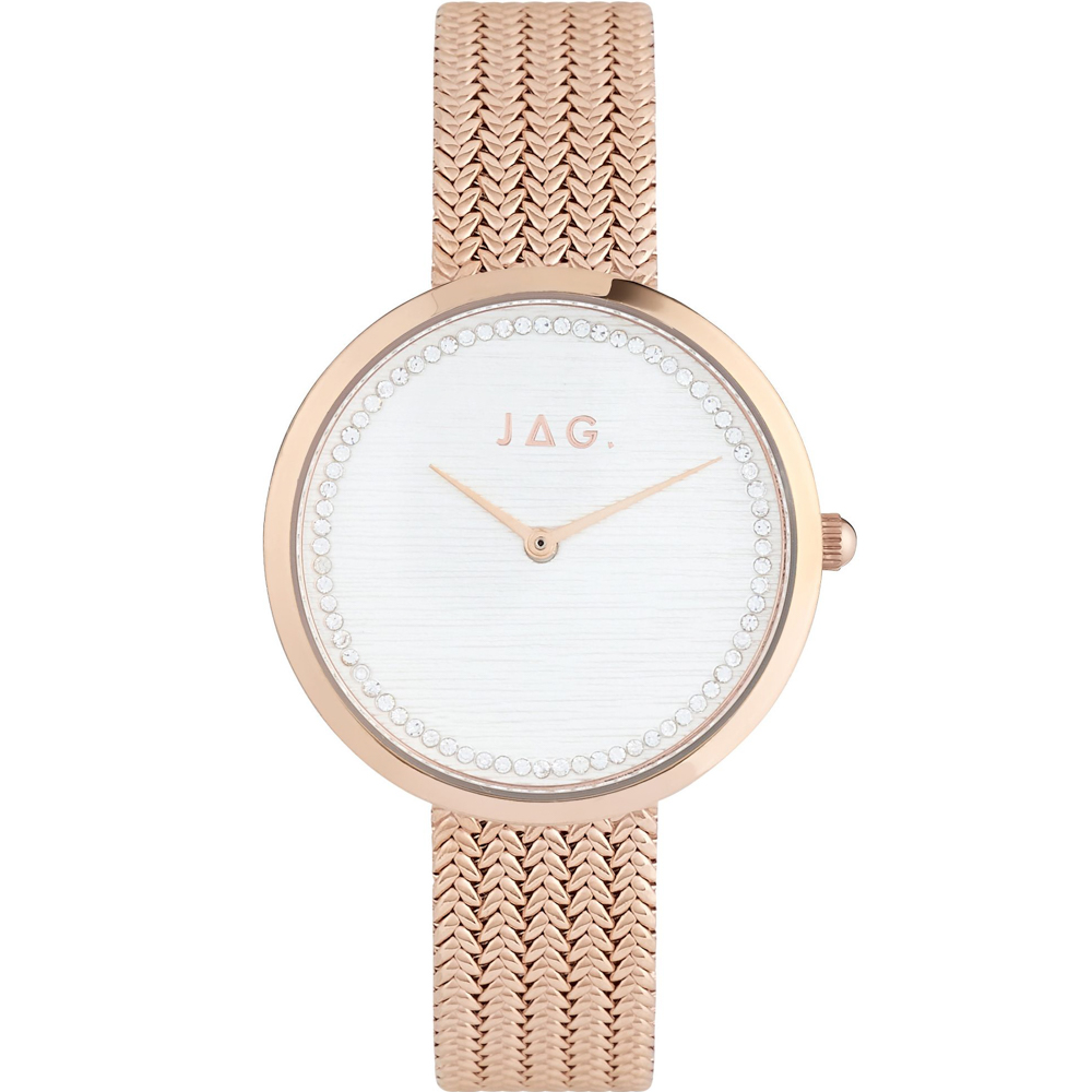 Jag Ruby IPRG 7708-RGRG Rose Gold Womans Watch