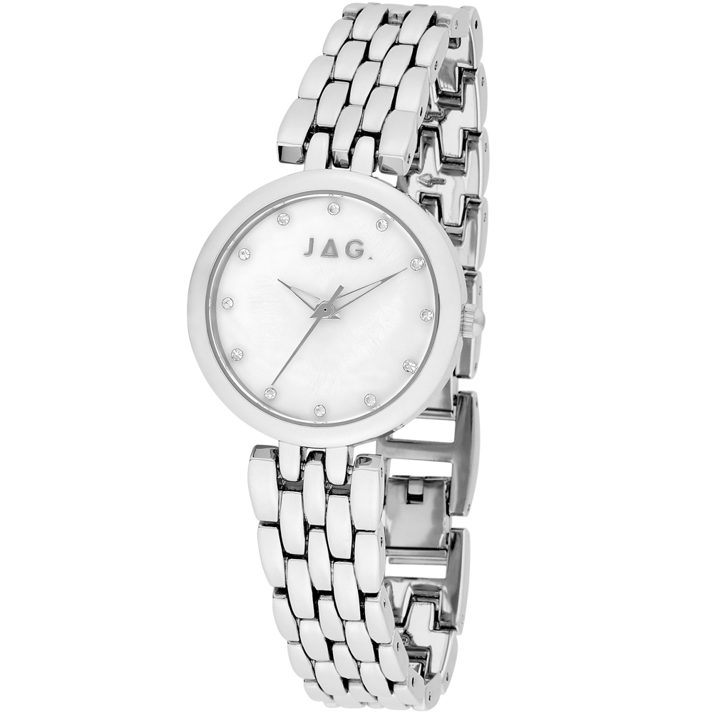 Jag Madeline 748 0763 Silver Womans Watch