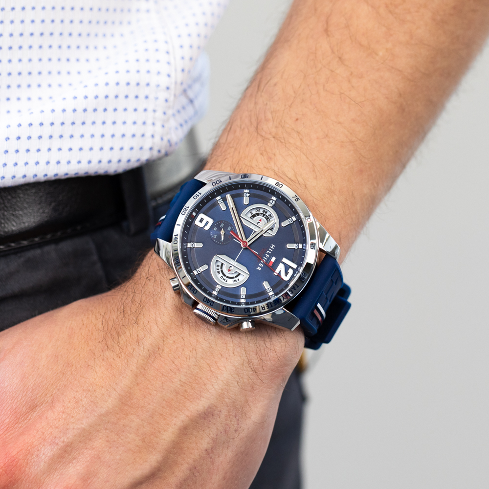 Tommy Hilfiger Decker Collection 1791476 Multi Function Mens Watch