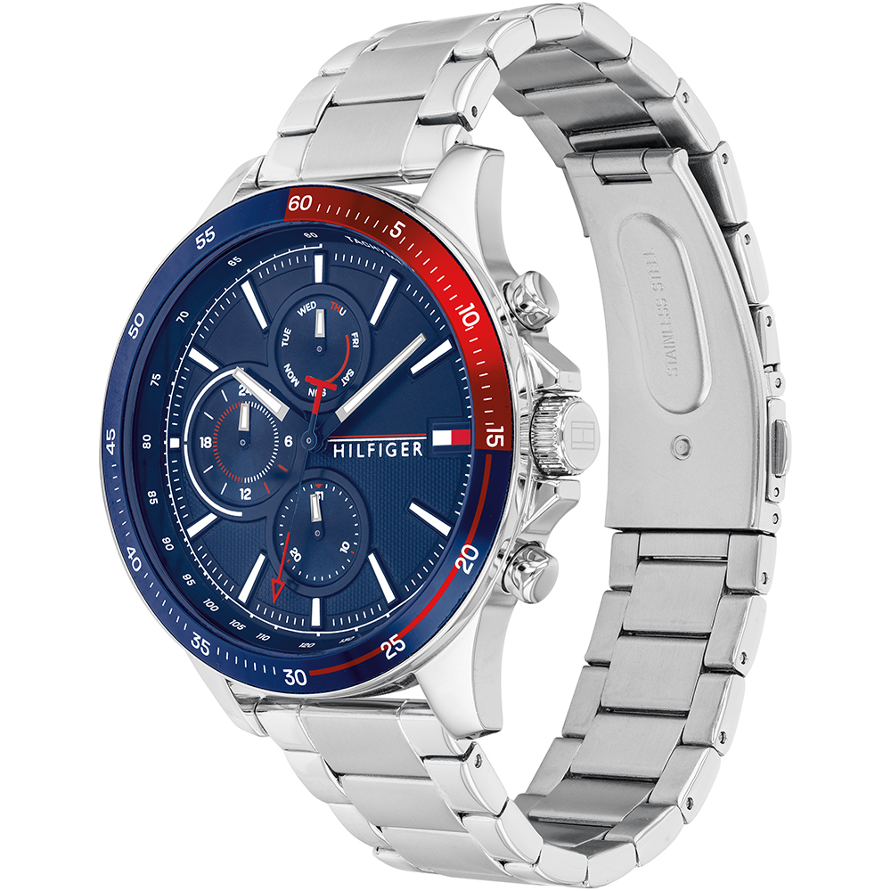 Tommy Hilfiger Bank Collection 1791718 Mens Watch
