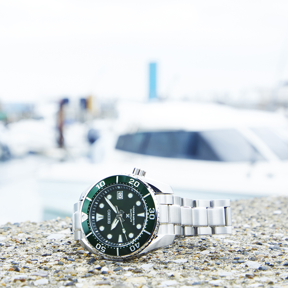 Seiko Prospex SPB103J1 Sumo Green 200 Metres Divers Watch