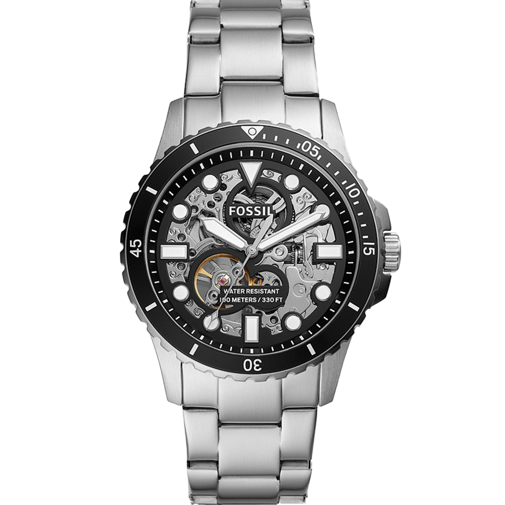 Fossil FB-01 ME3190 Automatic Stainless Steel Mens Watch