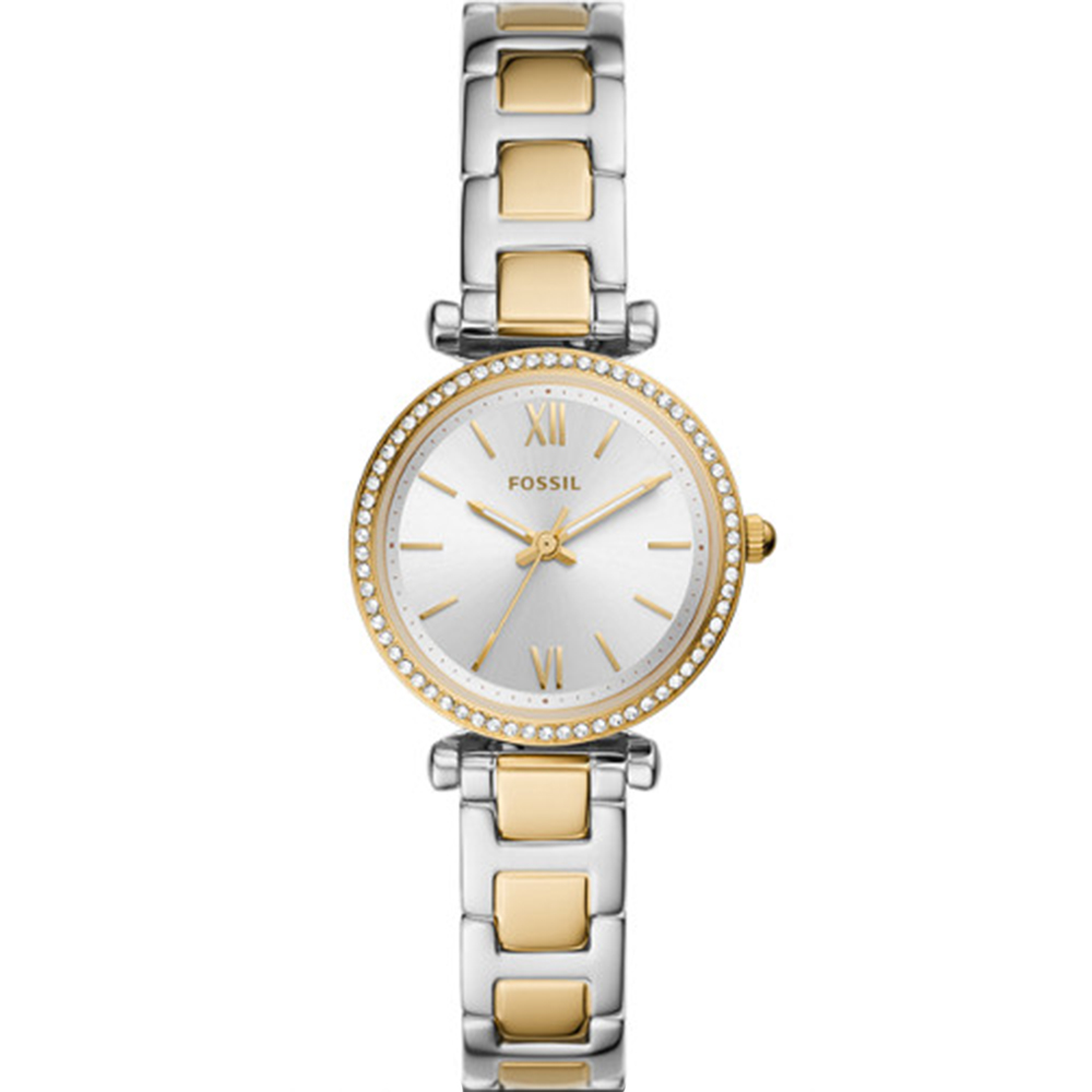 Fossil Carlie Mini ES4955 Two Tone Womens Watch