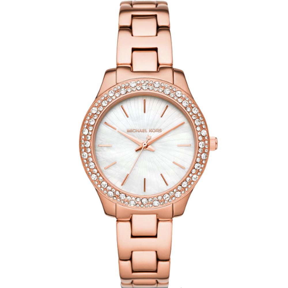 Michael Kors Liliane MK4557 Rose Tone Womens Watch