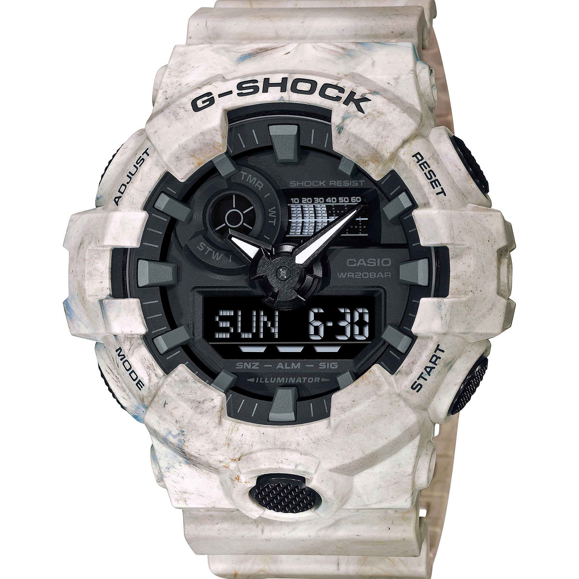 G-Shock GA-700WM-5ADR Utility Wavy Marble