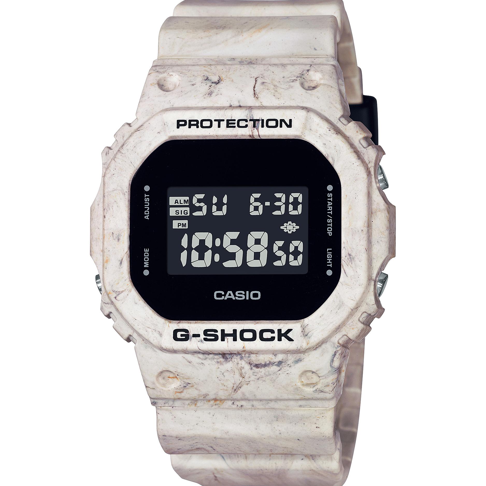 G-Shock DW-5600WM-5D Digital Utility Wavy Marble Series