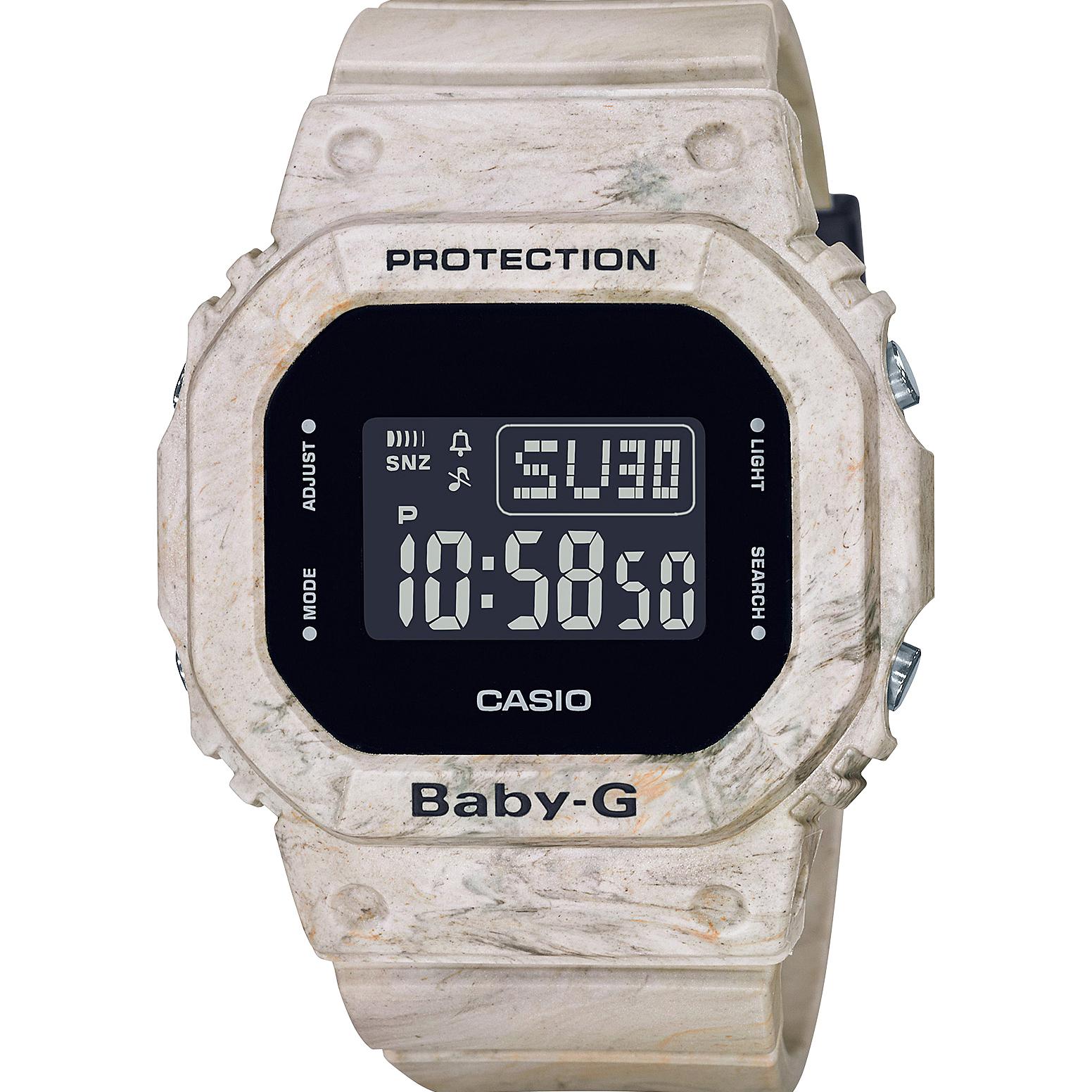 Baby-G BGD-560WM-5DR Digital Utility Wavy Marble Series