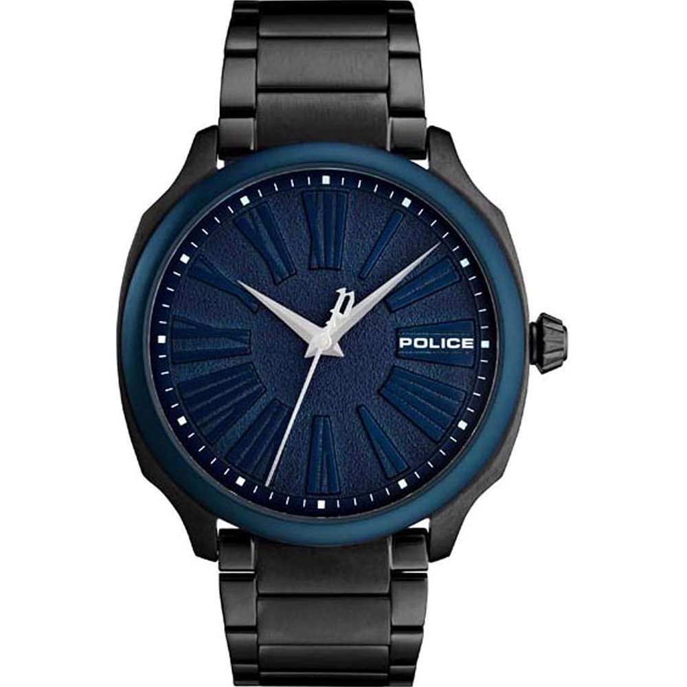 Police Baxley Blue Dial Mens Watch