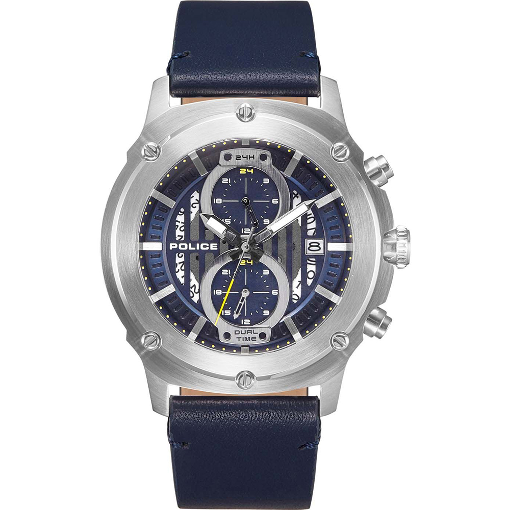 Police Lulworth Blue Mens Watch