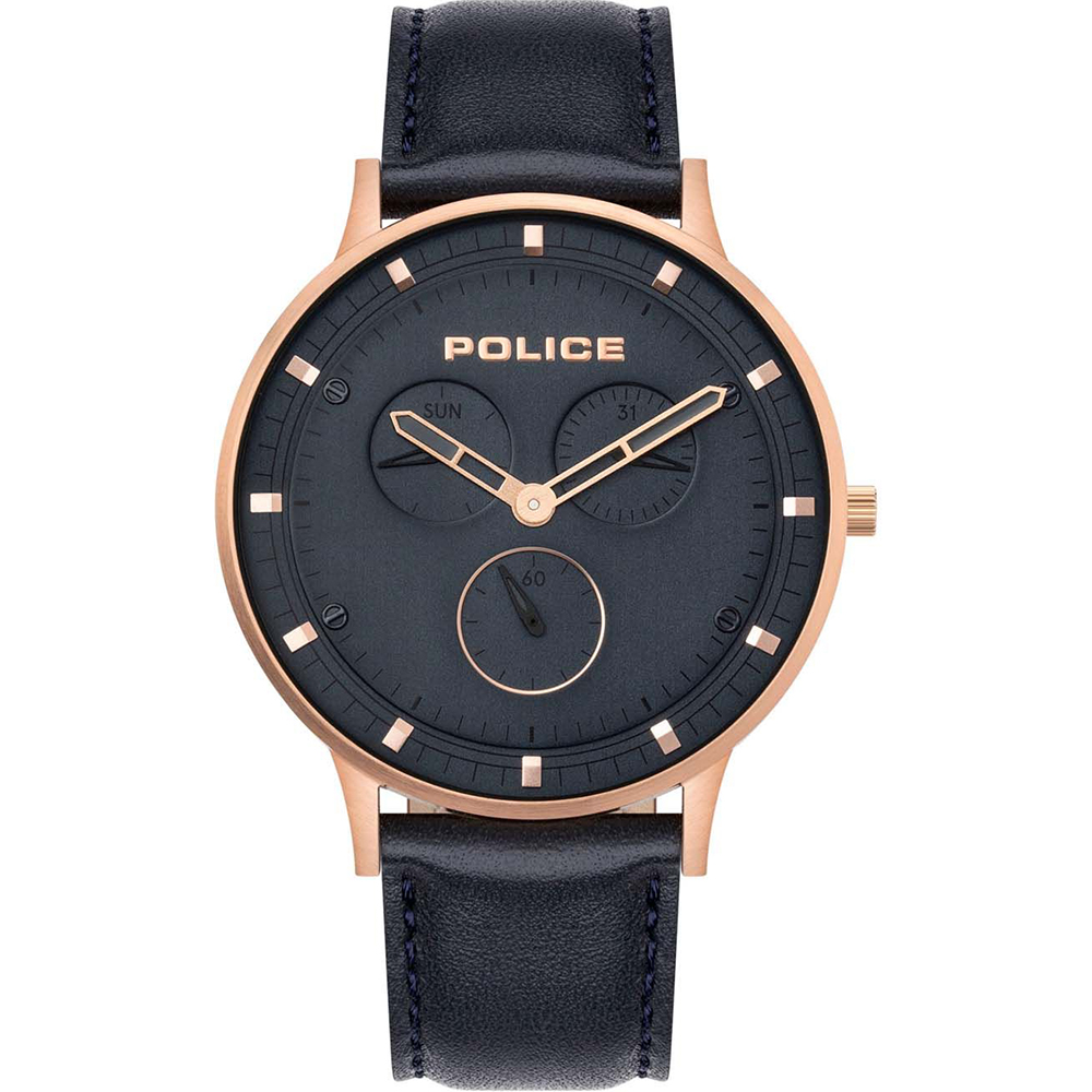 Police Berkeley Dark Blue Mens Watch