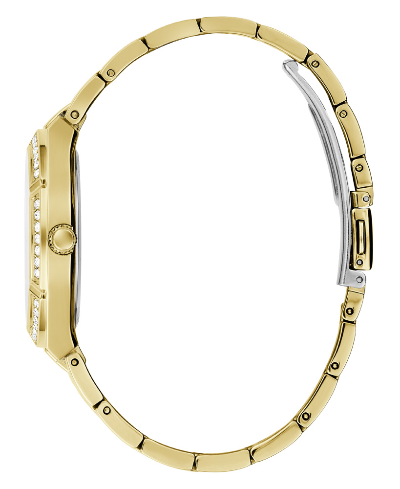 Guess Cosmo GW0033L2 Gold Tone Stone Set Womens
