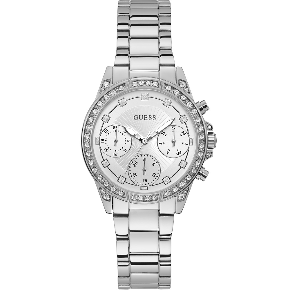 Guess Gemini W1293L1 Silver Chronograph Womens watch