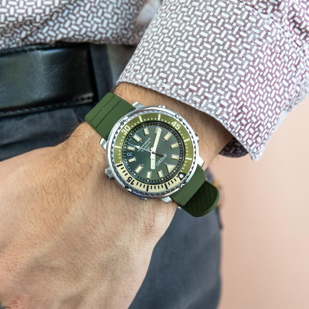 Seiko Prospex SRPF83K Green Automatic 200 Metres Divers Watch