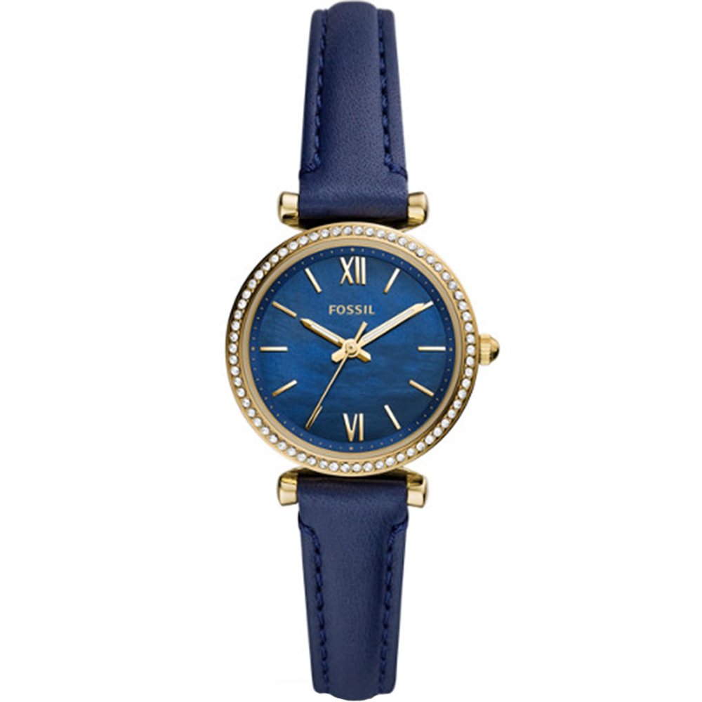 Fossil Mini Carlie ES5017 Navy Womens Watch