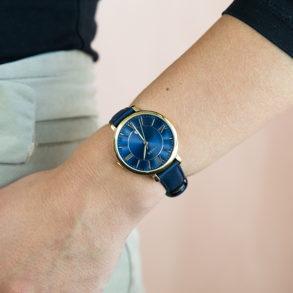 Fossil Jacqueline ES5023 Navy Blue Womens Watch