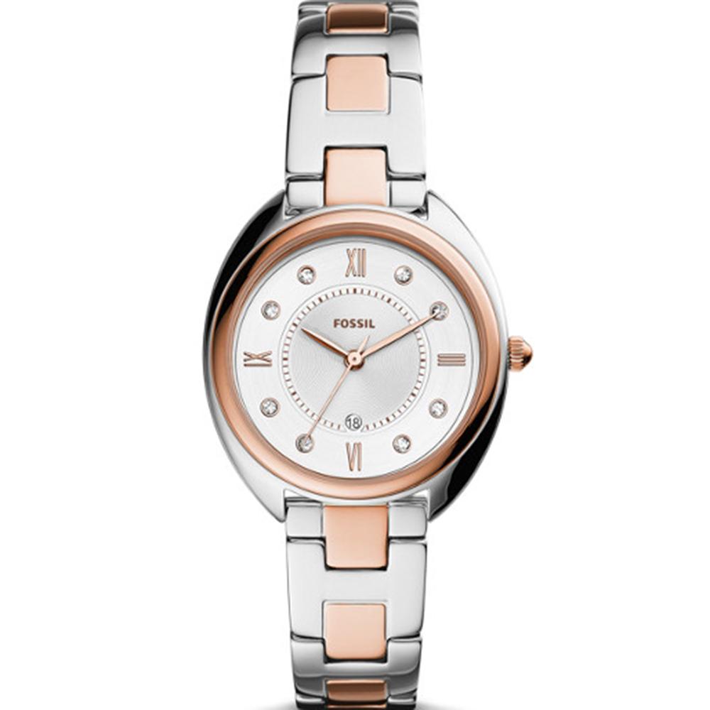 Fossil Gabby ES5072 Silver Tone Womens Watch