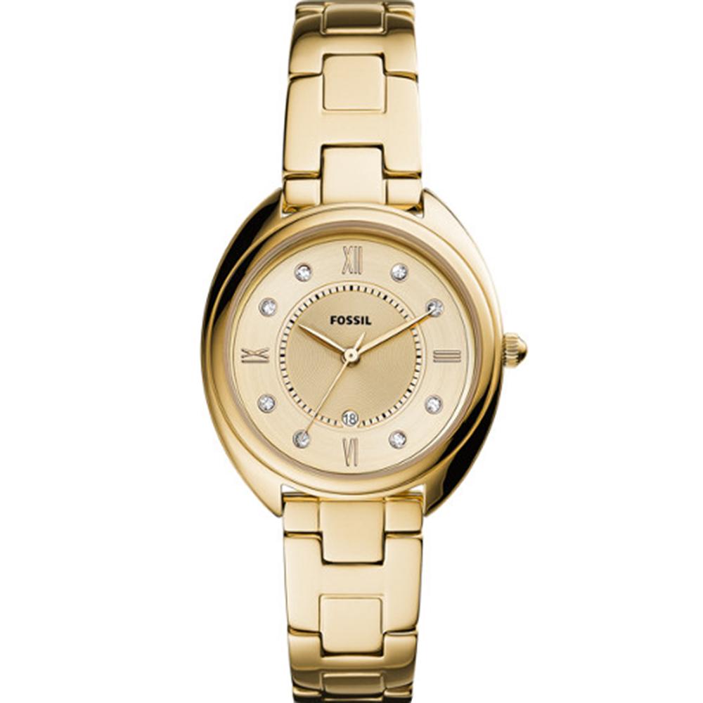 Fossil Gabby ES5071 Gold Tone Womens Watch
