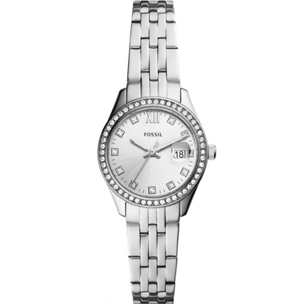 Fossil Micro Scarlette Stone Set Womens Watch