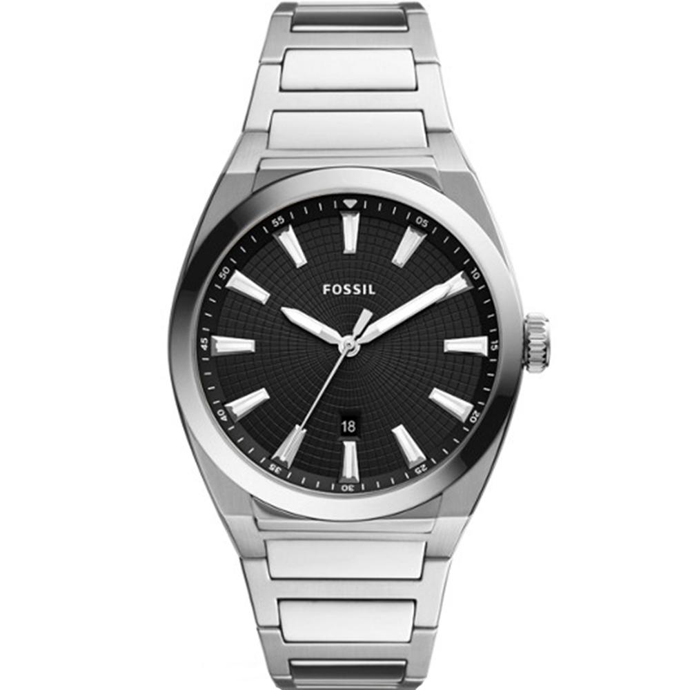 Fossil Everett FS5821 Silver Mens Watch