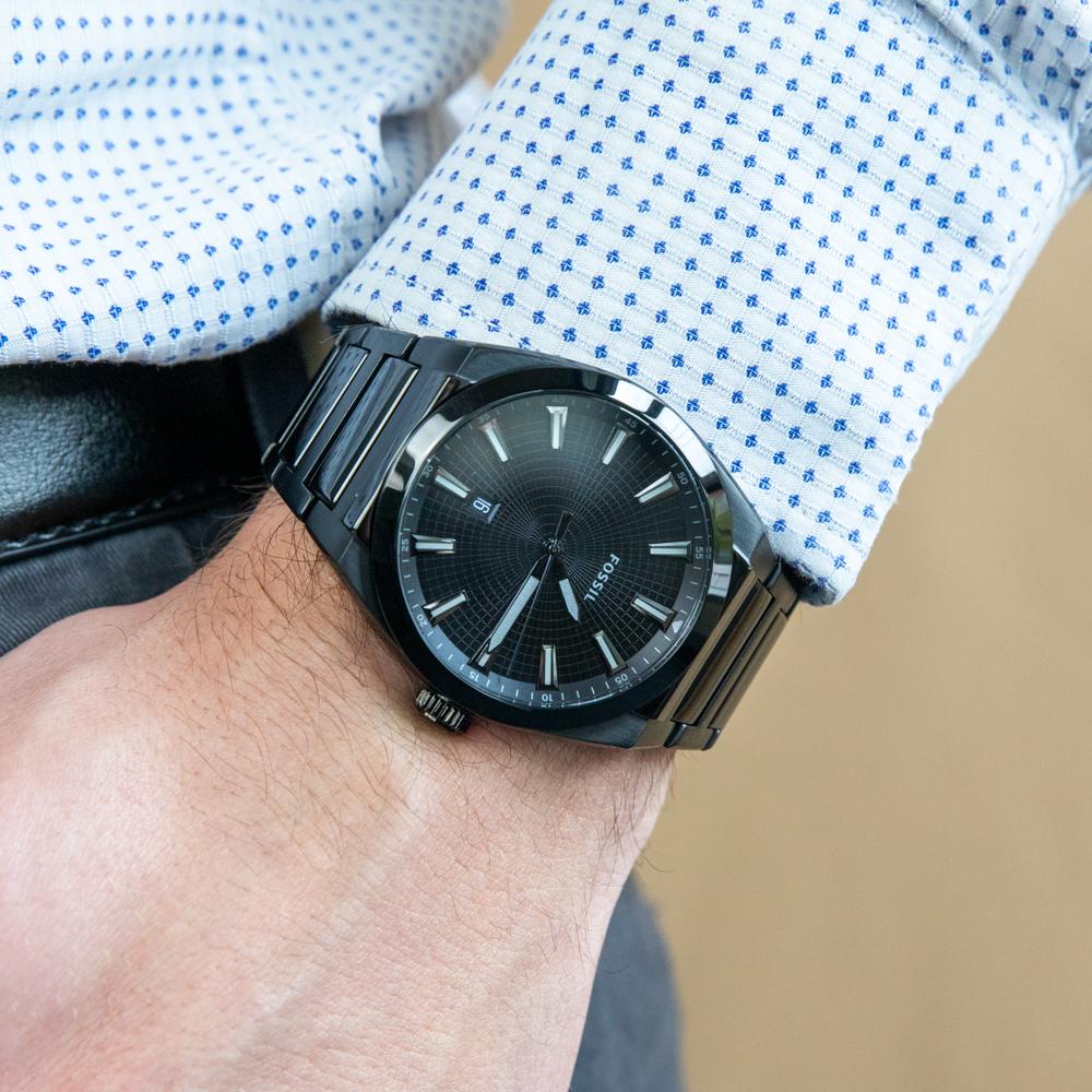 Fossil Everett FS5824 Black Mens Watch