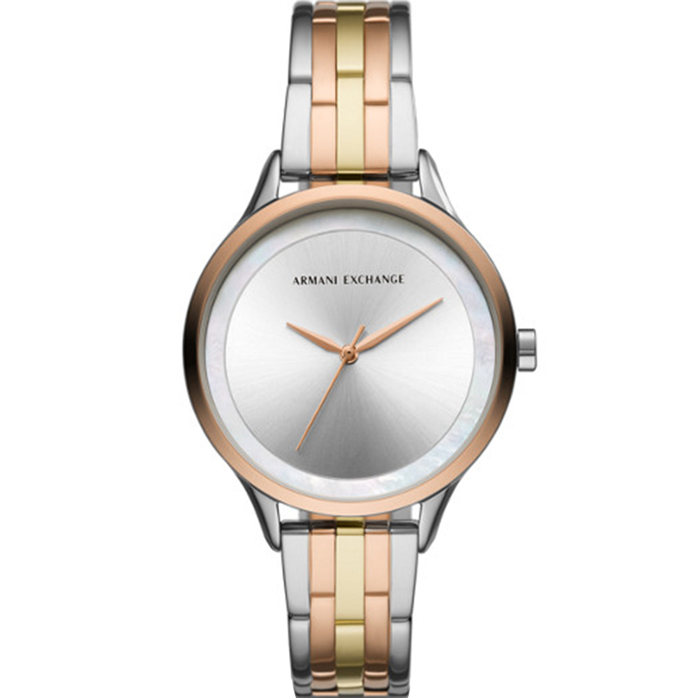 Armani Exchange Harper AX5615 Rose & Silver Tone Womens Watch