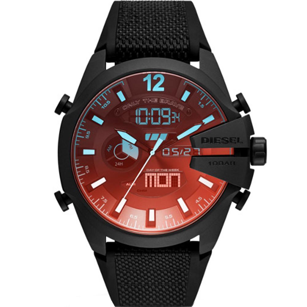 Diesel Mega Chief DZ4548 Chronograph Digital Mens Watch