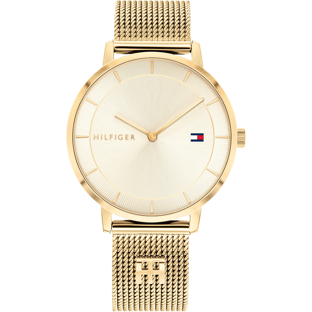 Tommy Hilfiger Tea 1782286 Gold Tone Mesh Womens Watch
