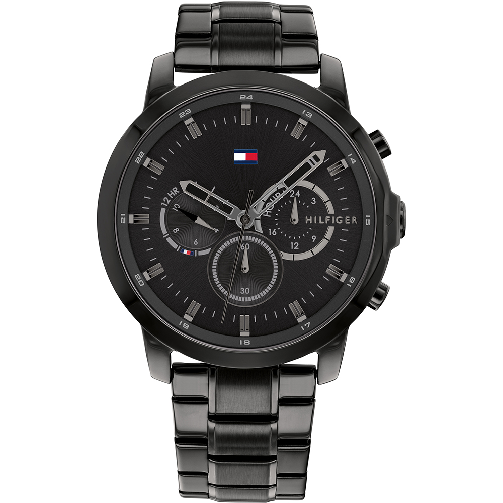 Tommy Hilfiger Jameson 1791795 Black Chronograph