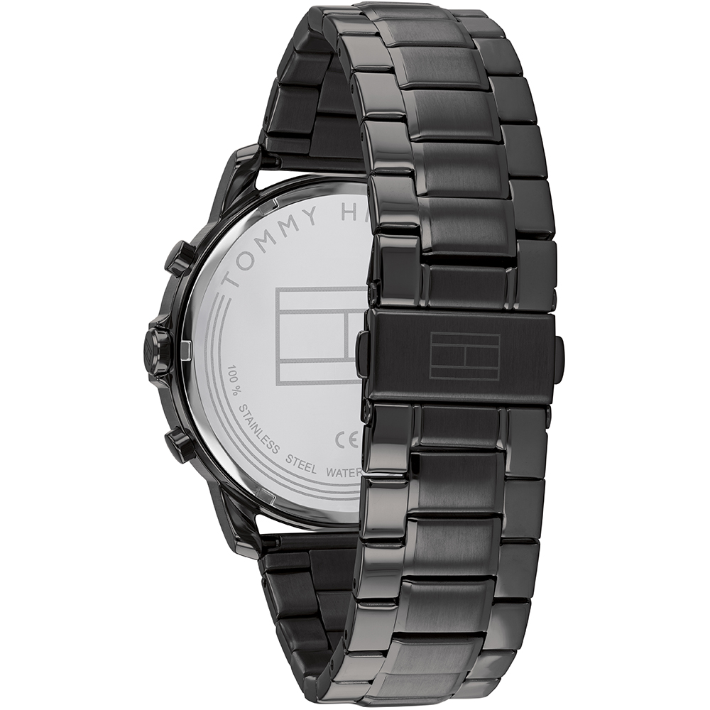 Tommy Hilfiger Jameson 1791795 Multi Function Black Stainless Steel