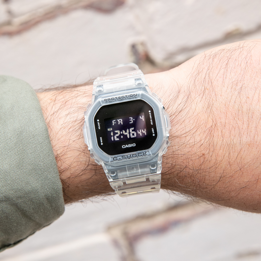 G-Shock Youth DW5600SKE-7 Digital Silver Watch