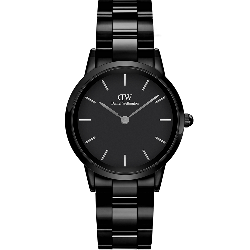 Daniel Wellington DW00100414 Iconcic Link Cermaic Black Watch
