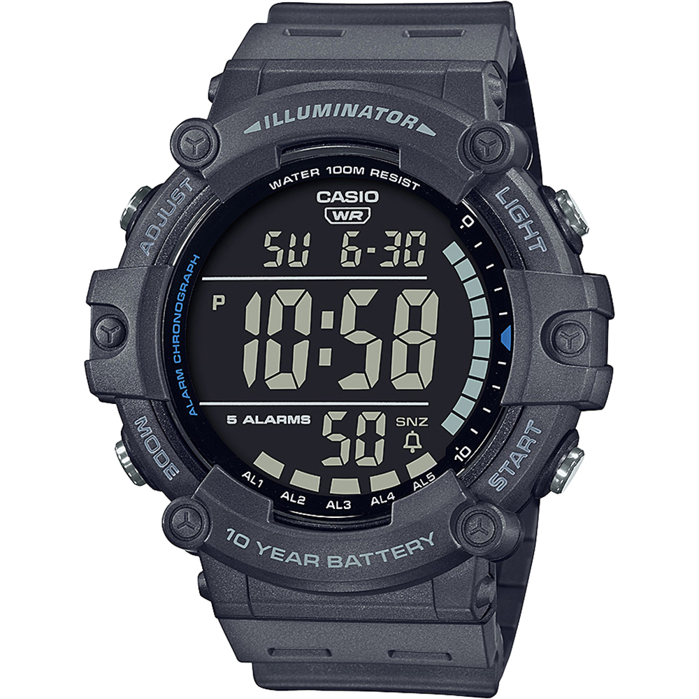 Casio AE1500WH-8 Digital 100 Metres Water Resistant
