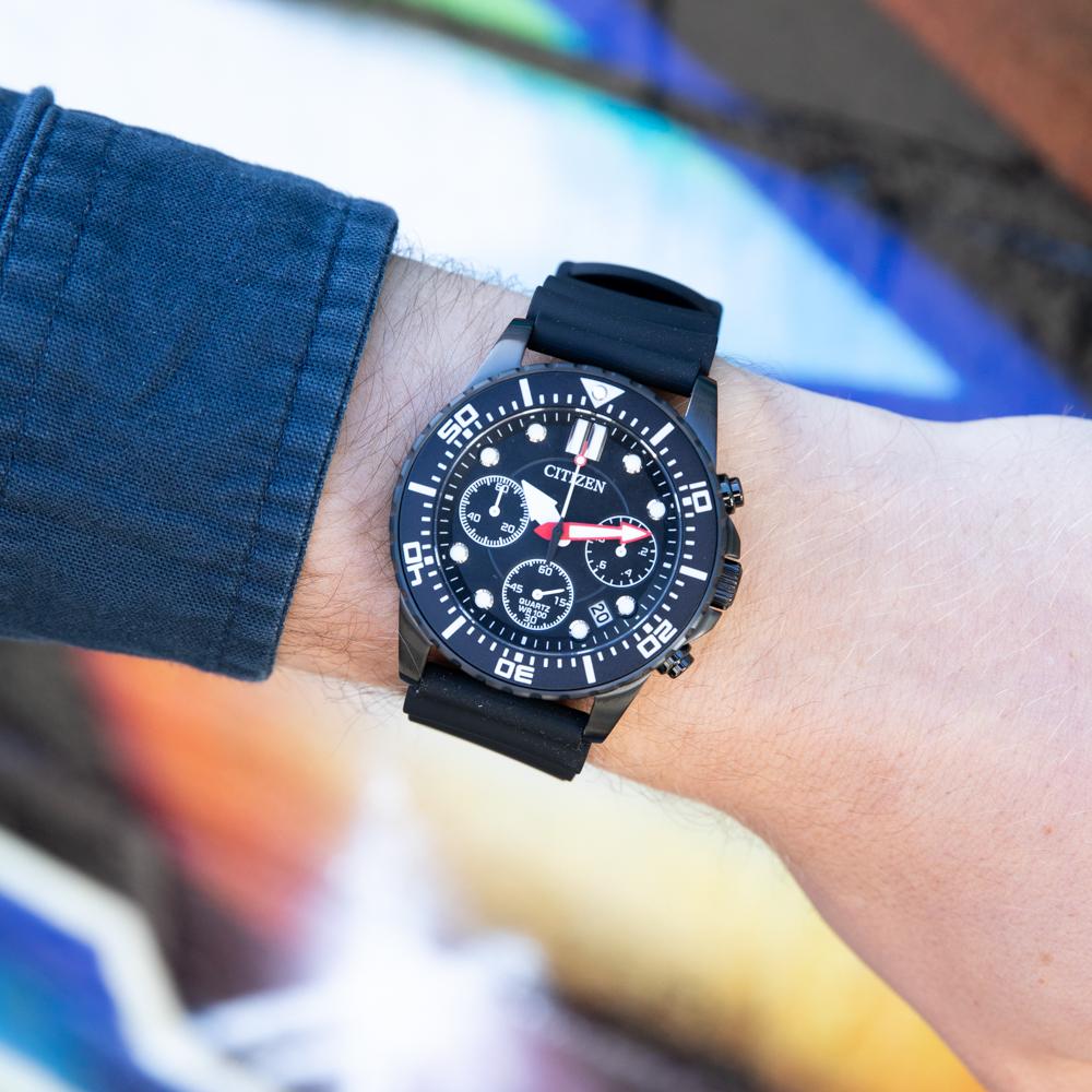 Citizen AI5005-13E 100 Chronograph Black Mens Watch
