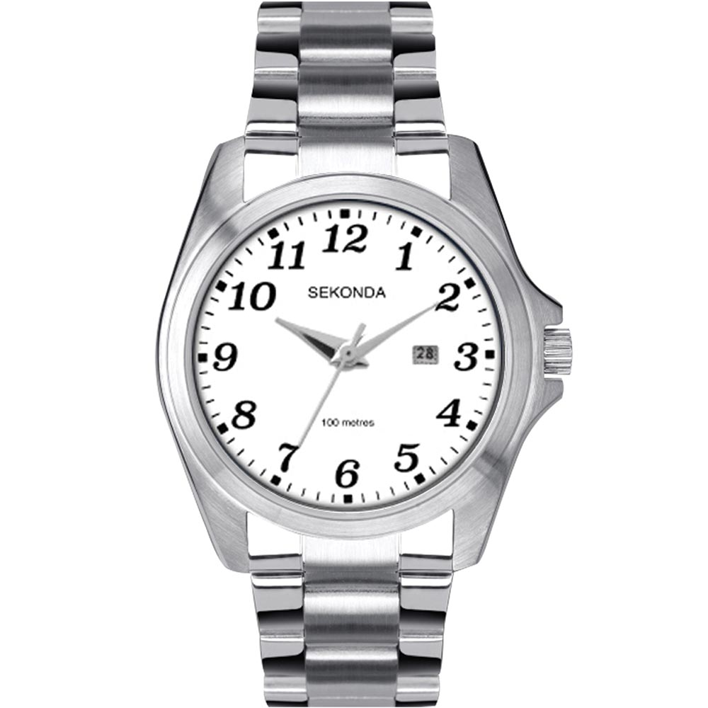 Sekonda SK1635 Stainless Steel Mens Watch