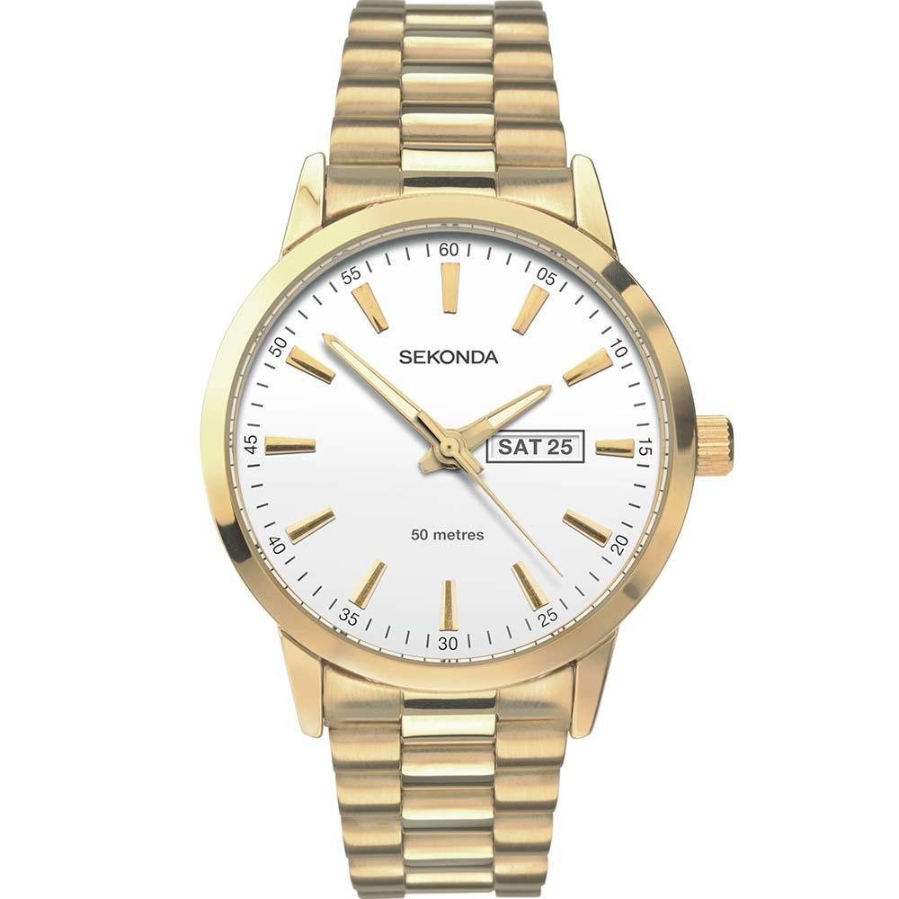 Sekonda SK1166 Gold Tone Mens Watch