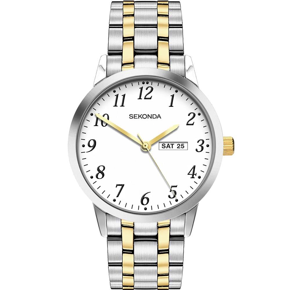 Sekonda SK1861 Two Tone Mens Watch