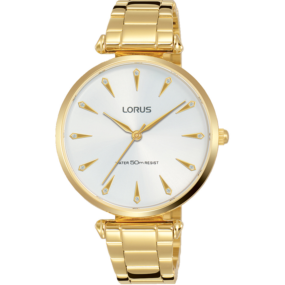 Lorus RG240PX-9 Gold Tone Womens Watch