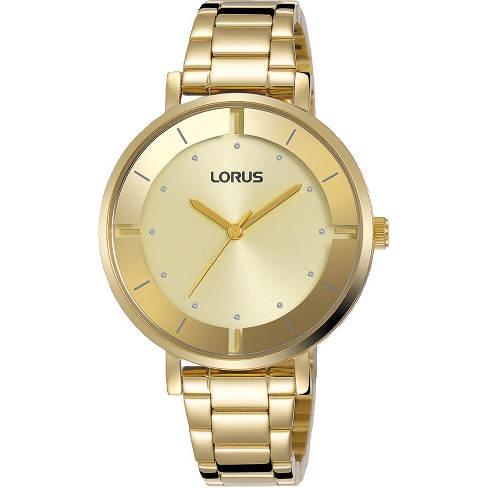 Lorus RG240QX-9 Gold Tone Womens Watch